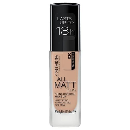 CATRICE Тональный крем All Matt Plus Shine Control Make Up, 30 мл, оттенок: 020 Nude Beige бежевыйТональные средства<br>