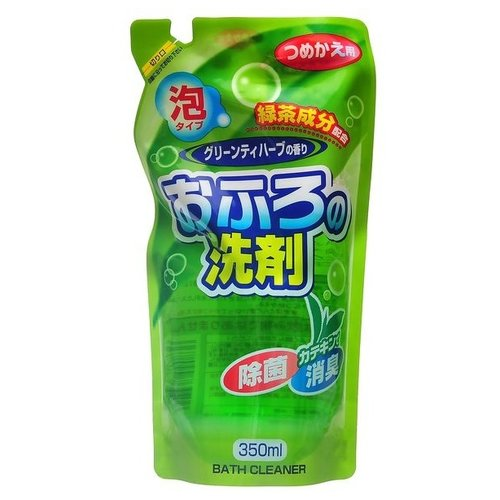 Rocket Soap жидкость для ванны зеленый чай и травы 0.35 л