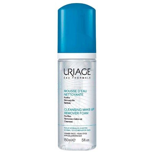 Uriage мусс очищающий для чувствительной, нормальной и комбинированной кожи, 150 мл косметика для мамы черный жемчуг пенка мусс для умывания 2 в 1 для нормальной и комбинированной кожи 150 мл