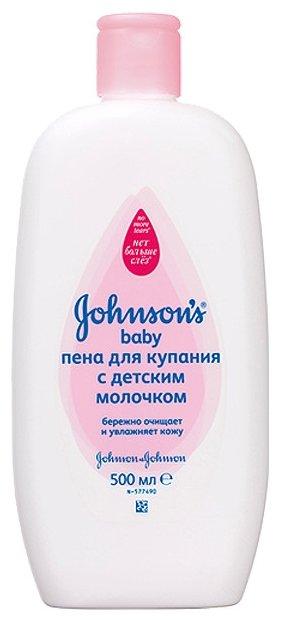 Johnson's Baby Пена для купания с детским молочком