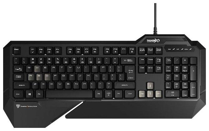 Клавиатура ThunderX3 ТК15 Black USB