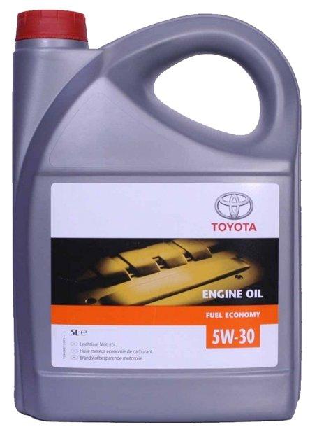 Моторное масло TOYOTA Fuel Economy 5W-30 5 л — купить по выгодной цене на Яндекс.Маркете