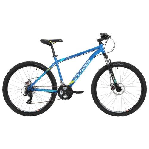 Горный (MTB) велосипед Stinger Aragon 27.5 (2018) синий 18