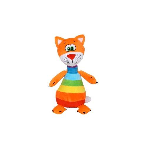 Купить Мягкая игрушка СмолТойс Радужный котёнок 47 см, Мягкие игрушки