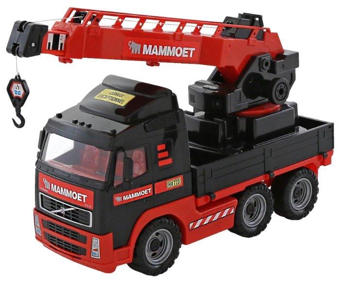 Автокран Полесье с поворотной платформой 203-01 Mammoet Volvo (56979) 73 см — купить по выгодной цене на Яндекс.Маркете