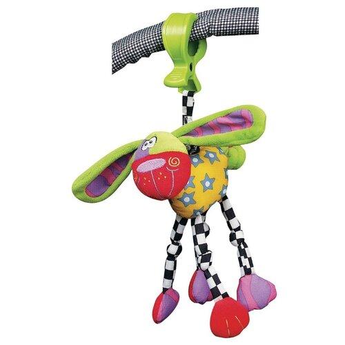 Купить Подвесная игрушка Playgro Собака (0111840) зеленый/красный/желтый, Подвески