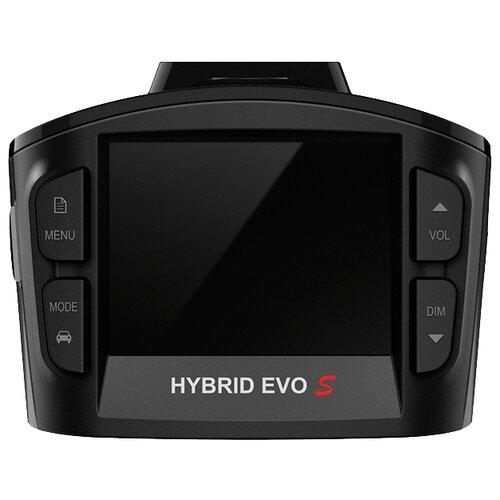 Видеорегистратор с радар-детектором SilverStone F1 HYBRID EVO S, GPS черный