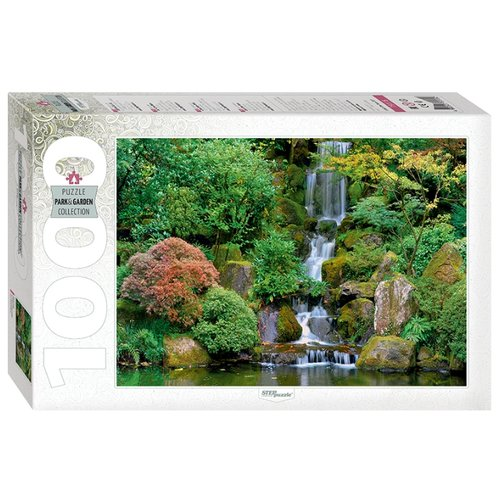 Пазл Step puzzle Park&Garden Collection Водопад в японском саду (79115), 1000 дет. пазл step puzzle park