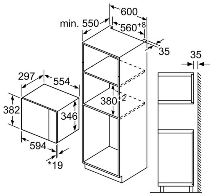 Микроволновая печь Bosch BFL524MS0