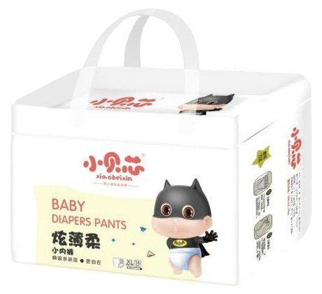 Xiaobeixin трусики Активный малыш XL (12-17 кг) 36 шт.