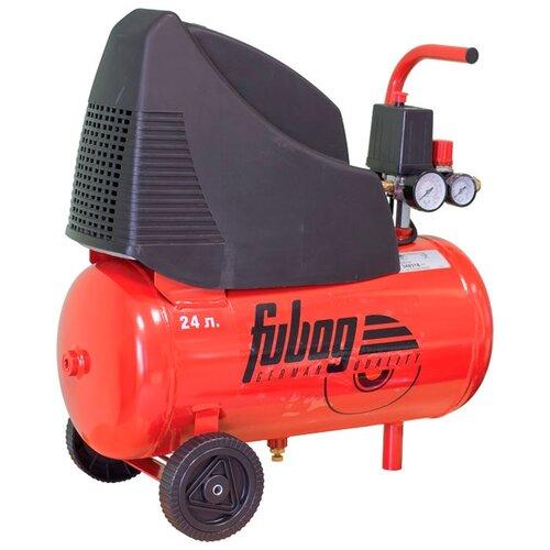 Компрессор безмасляный Fubag OL 231/24 CM2, 24 л, 1.5 кВт компрессор безмасляный fubag house master kit 24 л 1 1 квт
