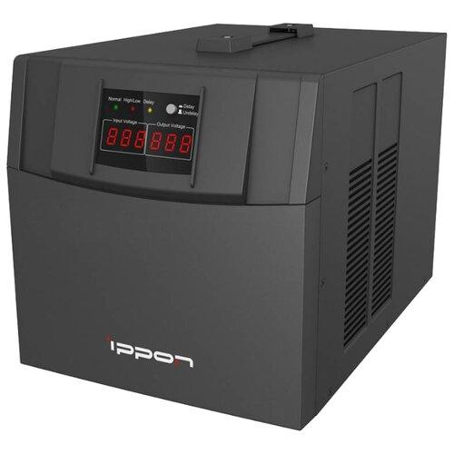 Стабилизатор напряжения однофазный IPPON AVR-3000 стабилизатор напряжения ippon 551689 avr 2000