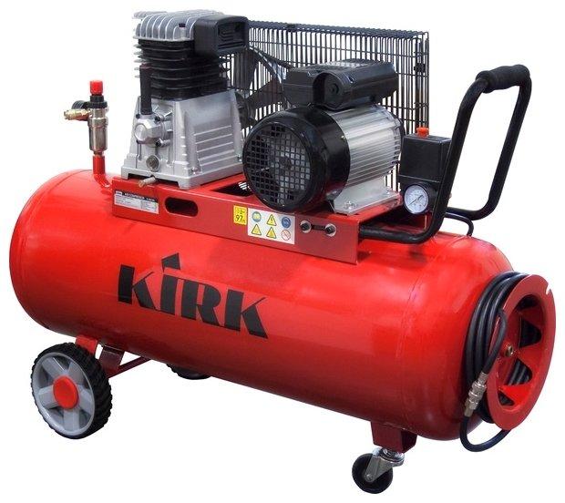 Компрессор масляный KIRK K2065Z/100, 100 л, 2.2 кВт