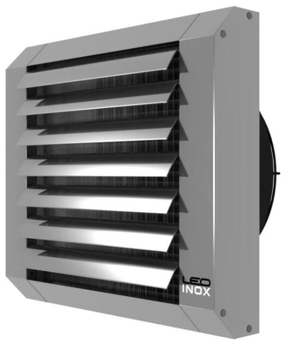Водяной тепловентилятор Flowair LEO INOX 25V
