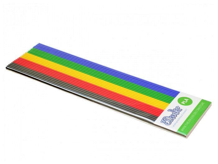 PLA пруток 3Doodler Essentials 5 цветов