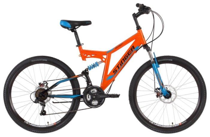 Горный (MTB) велосипед Stinger Highlander D 26 (2018)