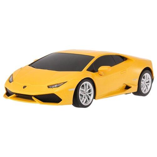 Легковой автомобиль Rastar Lamborghini Huracan LP 610-4 (71500) 1:24 18 см желтый автомобиль радиоуправляемый rastar 1 6 hummer h1 suv желтый