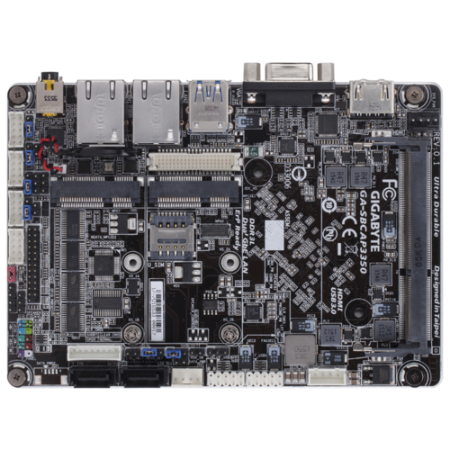 Фото - Материнская плата GIGABYTE GA-SBCAP3350 (rev. 1.0) gigabyte ga f2a88xm hd3p
