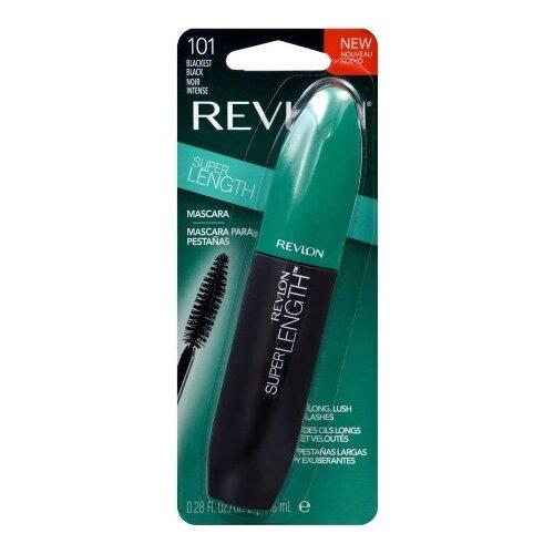 Revlon Тушь для ресниц Super Length Mascara, 101 Blackest black