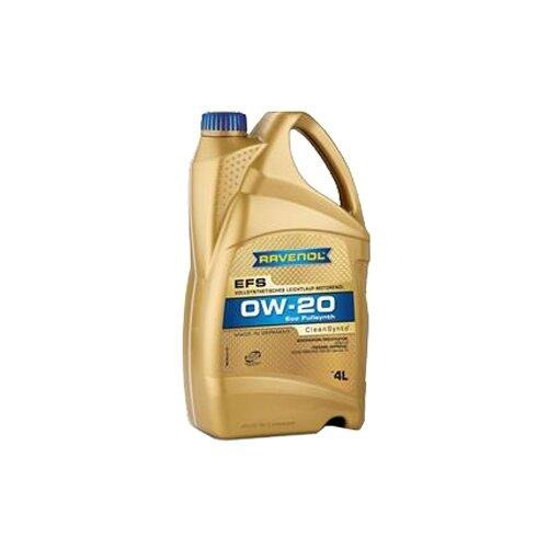 Моторное масло Ravenol EFS EcoFullSynth SAE 0W-20 4 л