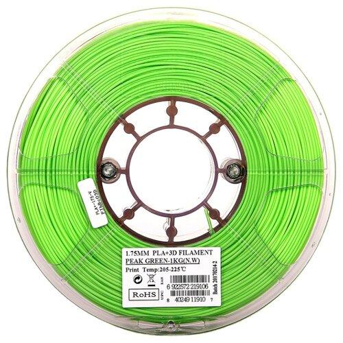PLA+ пруток ESUN 1.75 мм салатовый (peak green) 1 кг