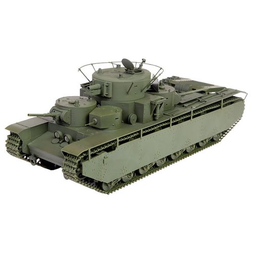 Сборная модель ZVEZDA Советский тяжёлый танк Т-35 (3667) 1:35 сборная модель звезда zvezda советский тяжелый танк т 35 5061