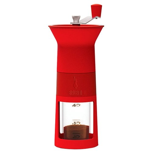 Фото - Кофемолка Bialetti Macina Caffe Rosso, красный кофемолка