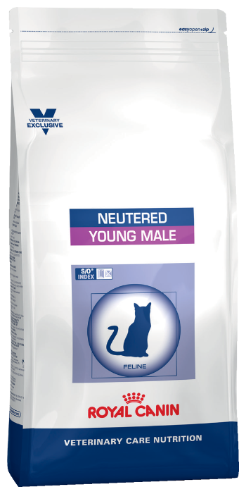 Корм для стерилизованных кошек Royal Canin Male для профилактики МКБ