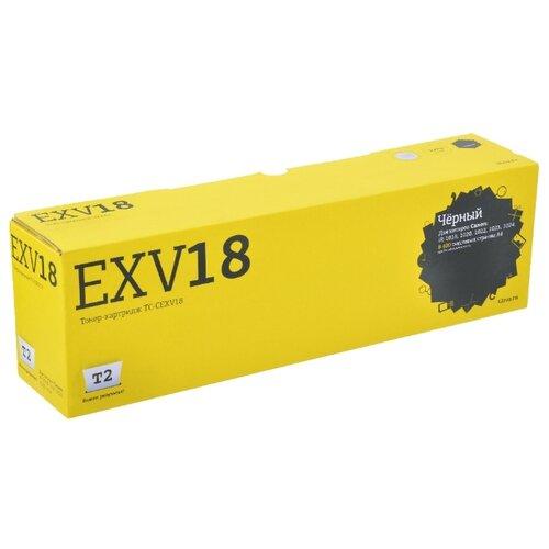 Фото - Картридж T2 TC-CEXV18, совместимый картридж t2 tc sh202 совместимый