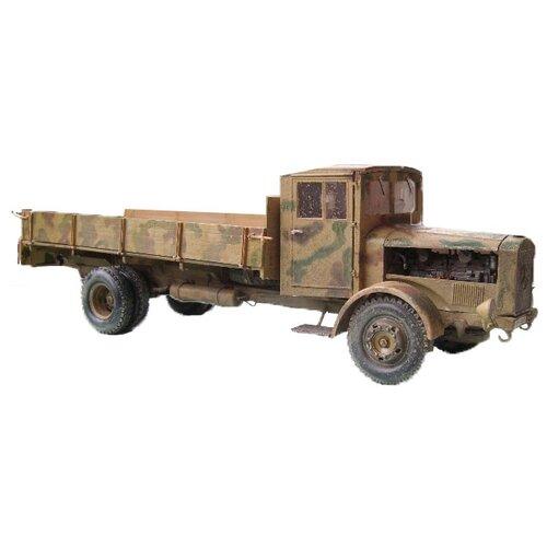 Купить Сборная модель ZVEZDA Немецкий тяжелый грузовик L 4500 c деревянной кабиной (3647) 1:35, Сборные модели