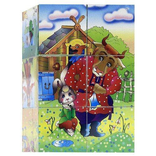 Купить Кубики-пазлы Десятое королевство Мир сказок-2 00572, Детские кубики