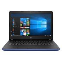 "Ноутбук HP 14-bs014ur (Intel Pentium N3710 1600 MHz/14""/1366x768/4Gb/500Gb HDD/DVD нет/Intel HD Graphics 405/Wi-Fi/Bluetooth/Windows 10 Home) (синий)"