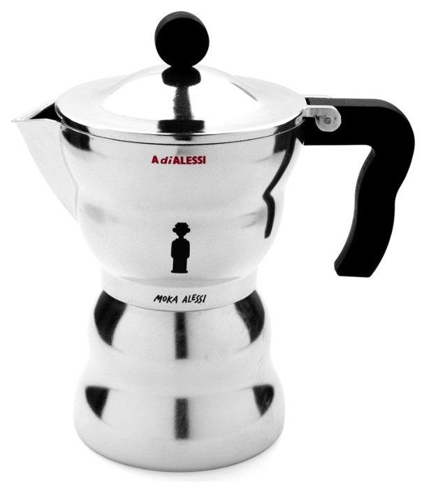 Кофеварка AAM33/3, Moka, 150 мл, 14,4 см, Alessi