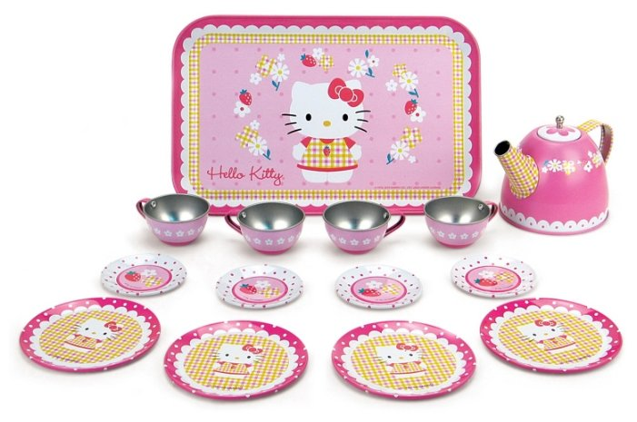 Набор посуды Smoby Hello Kitty 24592 фото 1