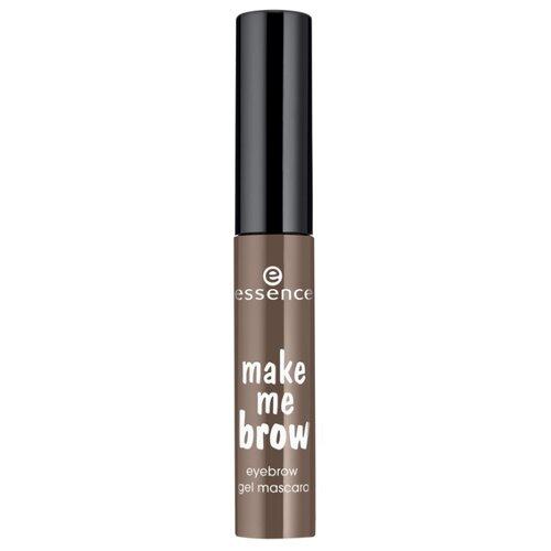 Essence Тушь-гель для бровей make me brow gel mascara 02, browny brows essence пудра для бровей make me brow 1 гр 2 цвета 02 для блондинок