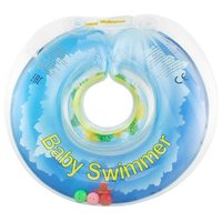 Круг на шею Baby Swimmer 0m+ (6-36 кг) с погремушкой