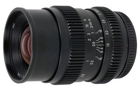 Объектив SLR Magic 17mm T1.6 Micro 4/3