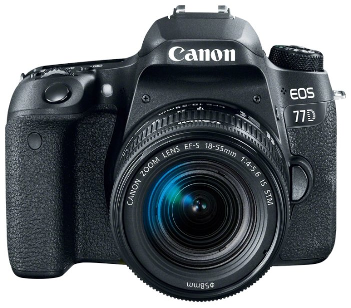 Canon Зеркальный фотоаппарат Canon EOS 77D Kit
