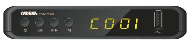 Cadena TV-тюнер Cadena CDT-1753SB