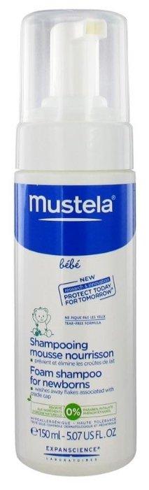 Пенка-шампунь Мустела для новорожденных, 150 мл