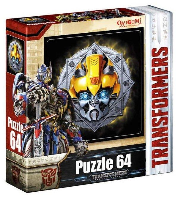 Пазл Origami Transformers (03277), 64 дет.