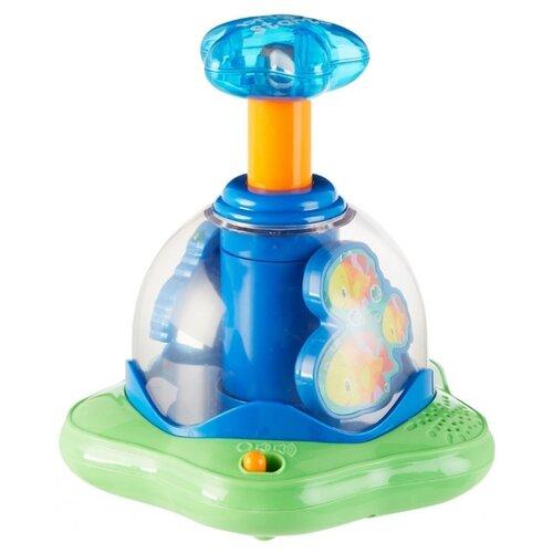 Юла-карусель Bright Starts Волшебная вертушка (10042) синий/зеленый игрушка chuc юла