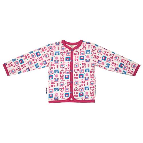 Купить Распашонка lucky child размер 18, молочный/розовый/бирюзовый, Распашонки