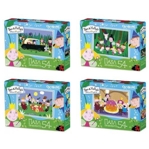 Купить Пазл Origami Ben & Holly's Little Kingdom (03003), 54 дет., Пазлы