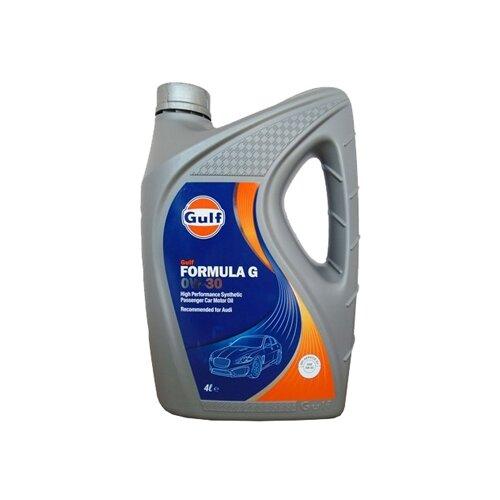 Моторное масло Gulf Formula G 0W-30 4 л моторное масло gulf multi g 20w 50 4 л