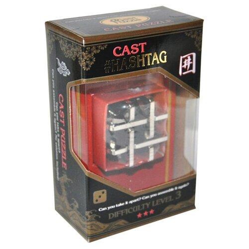 Головоломка Cast Puzzle Hashtag (473735) серый головоломка cast puzzle mobius 55208 желтый
