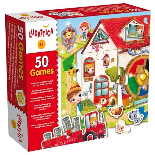 Набор настольных игр Ludattica 50 игр 51564Настольные игры<br>