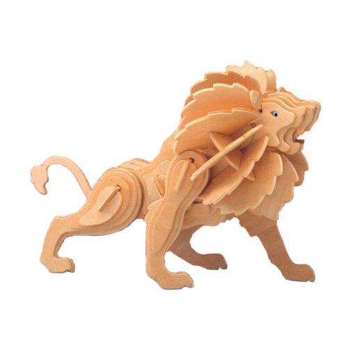 сборная модель мир деревянных игрушек ракетная установка п052 Сборная модель Мир деревянных игрушек Лев (Е013)