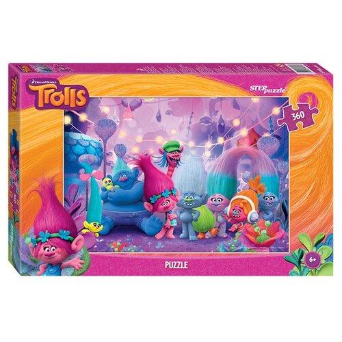 Пазл Step puzzle DreamWorks Trolls (96048), 360 дет. по цене 170