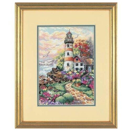 Купить Dimensions Набор для вышивания Beacon At Daybreak (Полуденный маяк) 13 х 18 см (6883), Наборы для вышивания
